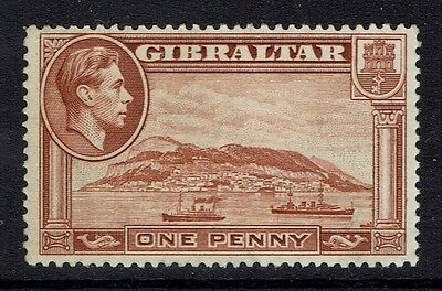 Gibraltar SG# 122, Mint Hinged, Perf 14 -  Lot 112916