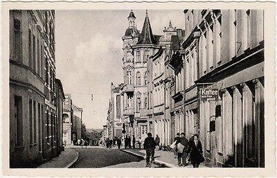 Dirschau Tczew Westpreußen Pommern Berlinerstraße mit Kaffeerösterei AK 1935