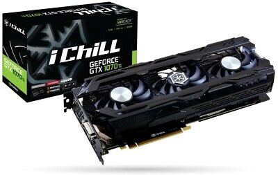 Inno3D Geforce GTX 1070 TI x3 8GB GDDR5  Ichill  for sale  Shipping to South Africa