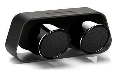 Porsche Design 911 Speaker GT3 Exhaust Bluetooth 4.0 60-watt Wireless Black Tips