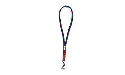 Porsche Martini Racing Lanyard Keyring Keychain Porsche Design Selection