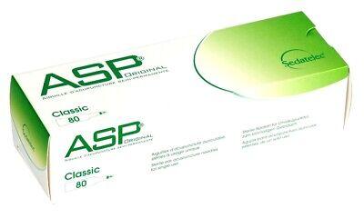 Akupunktur Nadeln ASP CLASSIC (80) Ohr-Einmal - Dauernadeln mit Pflaster