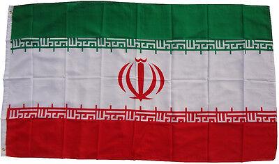 XXL Iran Flagge 250 x 150 cm Fahne Sturmflagge Hissfahne Hissflagge WM Flagge