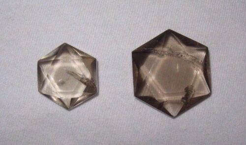 "1 Smoky Quartz Star (six side) 3/4"" - 1"" Brazil"