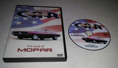 American Muscle Car - The Best of Mopar (DVD, 2005) Rare OOP Region 1 (Best Mopar Muscle Cars)