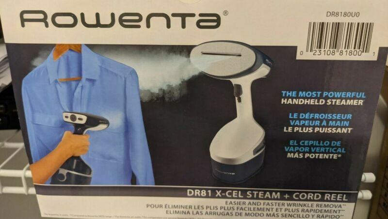 Rowenta DR81 Xcel Steam Plus Hand-Held Steamer 1600 watts BRAND NEW