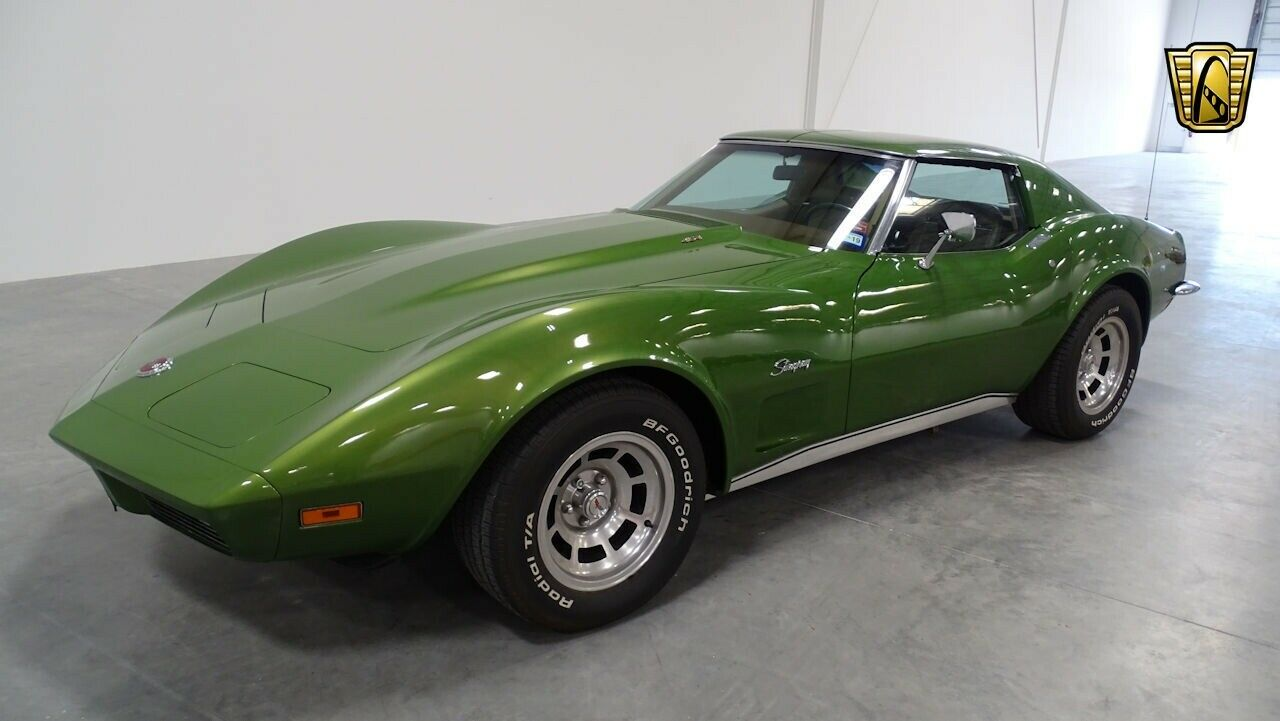 1973 Green Chevrolet Corvette   | C3 Corvette Photo 4