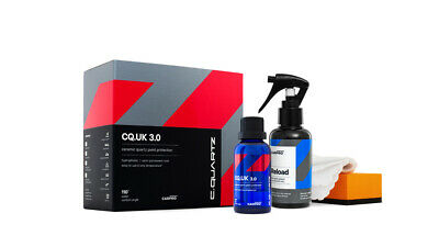CarPro Cquartz UK 3.0 - 50ml Kit w/ Reload - FREE SHIPPING