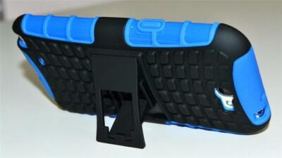 Blue Heavy Duty Strong Tradesman Case Cover for Samsung Galaxy Note 2 LTE 4G for sale  Shipping to Canada
