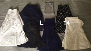 Lot of 7 skirts