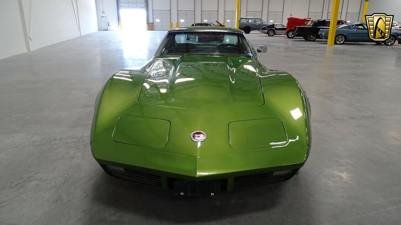 1973 Green Chevrolet Corvette   | C3 Corvette Photo 5