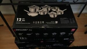 Henckles Zwilling Pots and Pans Set