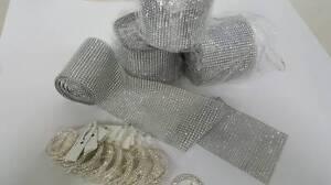 30metres rhinestone mesh PLUS 20 rhinestone buckles - only$60.00 Bentleigh East Glen Eira Area Preview