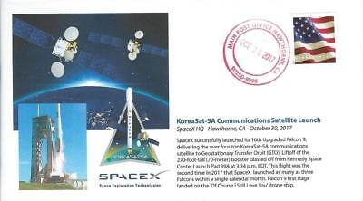 2017 Spacex Koreasat 5A Communications Satellite Launch Hawthorne 30 October