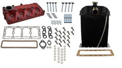 Cylinder Head Kit And Radiator Ih Farmall Cub Cub Loboy Tractor