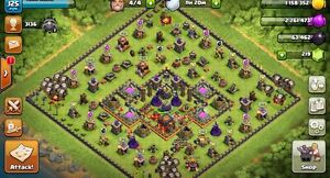 Clash of Clans level 128 (Engineered th 9.5) Kelvin Grove Brisbane North West Preview