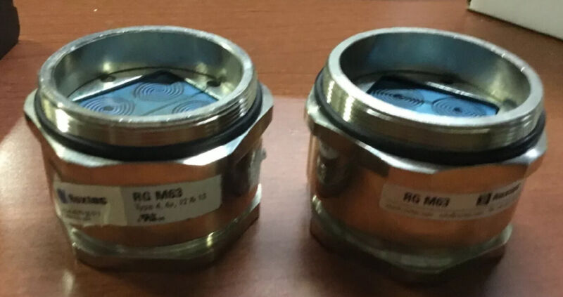 2 Roxtec RG M63 /4 Gland Cable Entry Seals