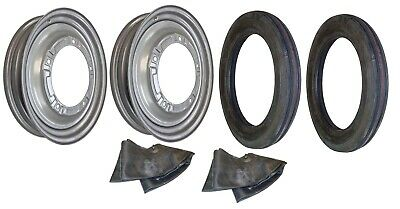 Front Rim Tire Set Ford 9n 2n Tractor