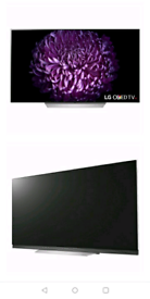 LG OLED E7 TV WITH BUILT IN SOUND BAR