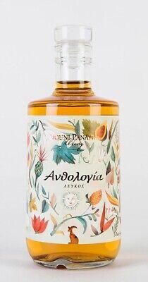 Anthologia white 2015, Wein weiß, Zypern süß, Strohwein Passito