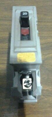 Wadsworth Milbank A20ni Circuit Breaker 20amp