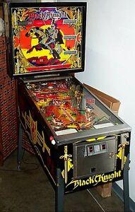 1980 Williams Black Knight Pinball Machine - Personal Use Kingston Kingston Area image 1