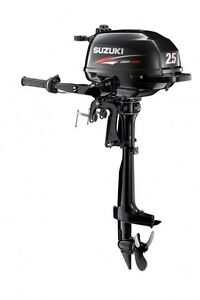 NEW SUZUKI DF 2.5 HP F 4 Four Stroke Outboard Boat Motor Engine Boat Short Shaft