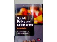 Social Policy and Social Work. An Introduction
