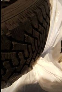Goodyear Snow Tires - P205/60/R15 on steel rims, ready to go!