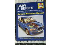 BMW 3 series 1998-2006 owners workshop manual