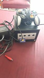 Game Cube Console, with one controller, and Memory card