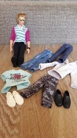 Ken doll and outfits