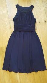 Beautiful navy blue prom dress