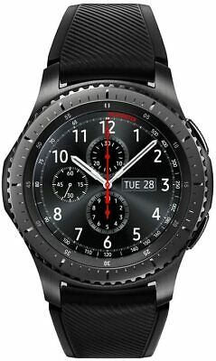Samsung Gear S3 Frontier SM-R765A Smart Watch (Bluetooth/WIFI+ 4G LTE, Unlocked)