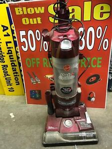 USED-Hoover Pet Cyclonic Upright Bagless Vacuum, Uh70085