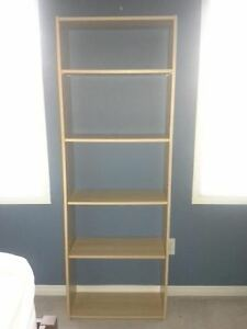 birch ikea bookcase