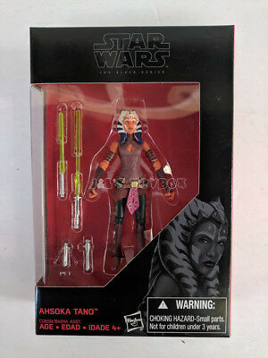 "Star Wars The Black Series Ahsoka Tano 3.75"" Exclusive Action Figure - New"