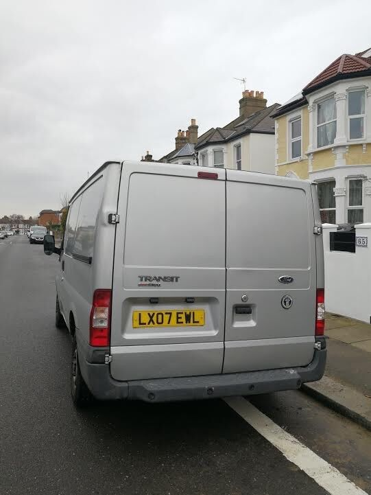 Ford transit T300s Van,Silver colour,Year 2007.good condition