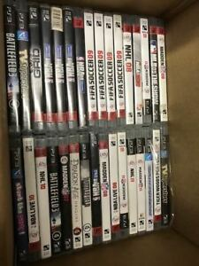 Bundle: Lot of 51 PS3 Games-Excellent Condition