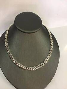 SILVER CURB LINK CHAIN #87106 Caboolture Caboolture Area Preview