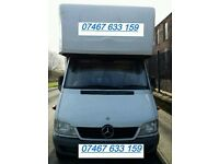 Hire Big Luton Tail-Lift Van with Man from £20- - -LWB Luton Van for Removals, Deliveries, Haulage