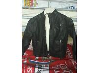 Size 4-5 Years leather look jacket