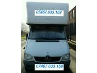 Big Van and Man @ £20/hour. Long Wheel Base Luton Van for Cheaper Removals & Deliveries, Haulage