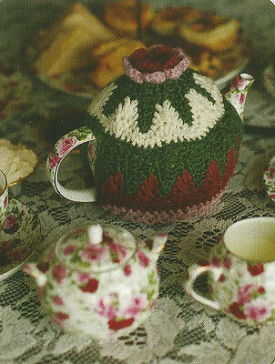Crochet Pattern ~ ROSY COSY TEAPOT COZY ~ Instructions
