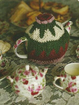 Crochet Pattern ~ ROSY COSY TEAPOT COZY ~ Instructions