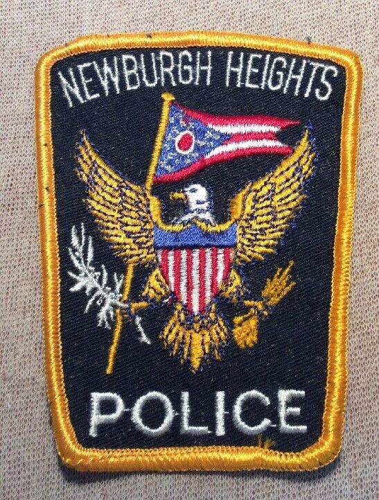 OH Newburgh Heights Ohio Police Patch
