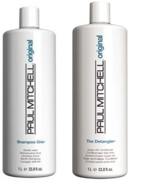 Paul Mitchell Shampoo One & The Detangler Litres