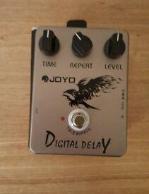 Joyo digital delay guitar effects pedal