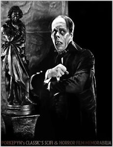 LON CHANEY ~  PHANTOM of the OPERA ~ 8x10 #9