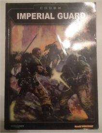 Games Workshop Warhammer 40000 Imperial Guard Codex